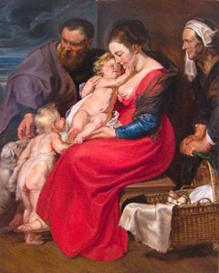 Rubens' Holy Family08 op 47x36